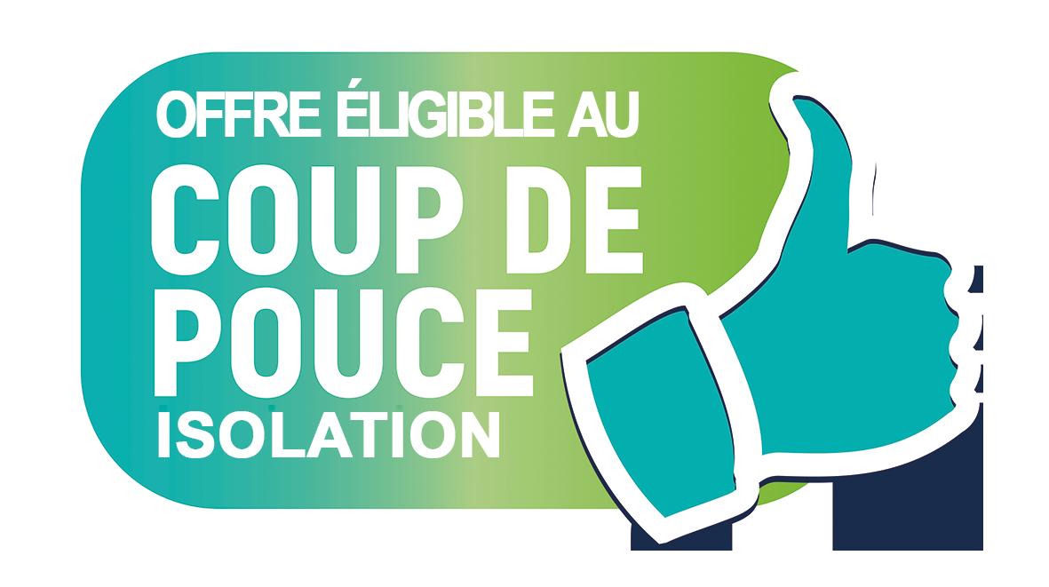 Logo Coup de Pouce isolation