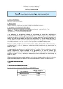 BAR-TH-148  Chauffe-eau thermodynamique à accumulation