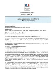 BAT-EN-106  Isolation de combles ou de toitures (France d'outre-mer)