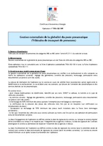 TRA-SE-109  Gestion externalisée de la globalité du poste pneumatique (Véhicules de transport de personnes)