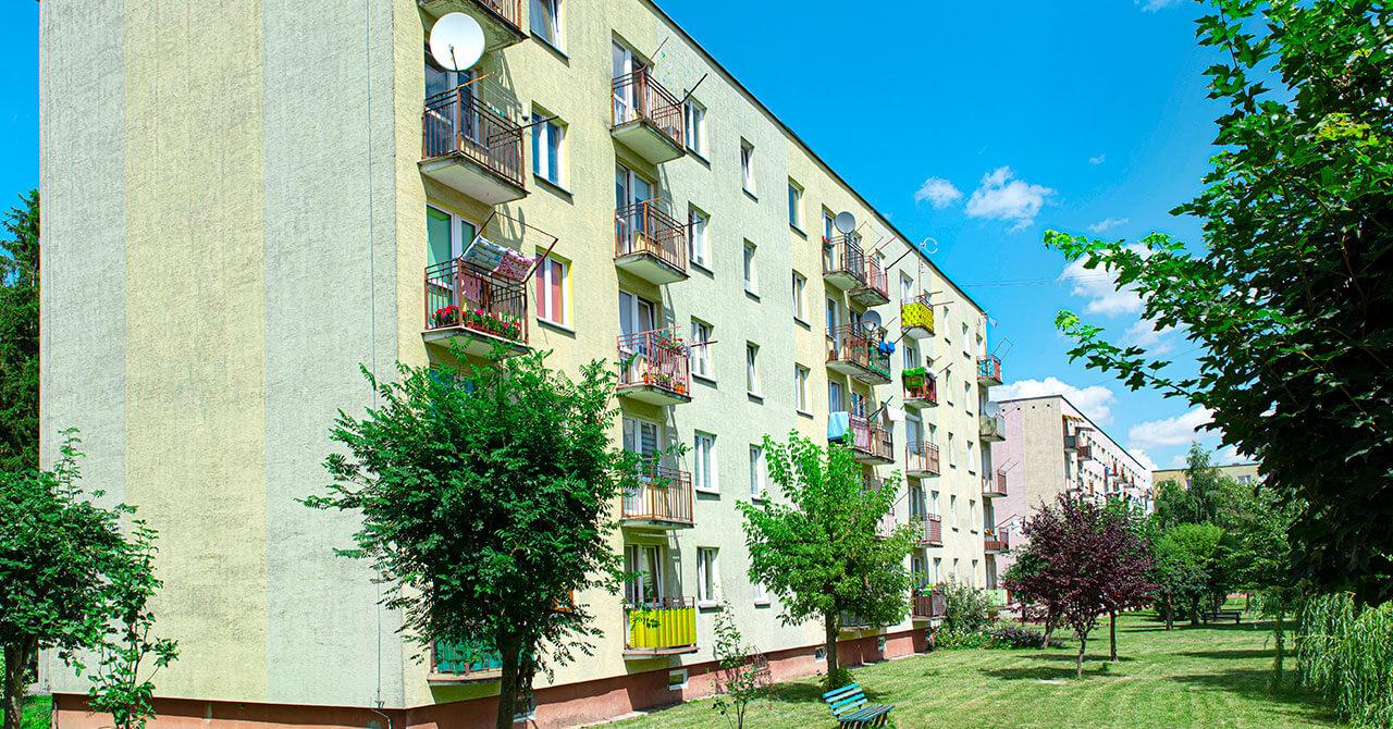 Le parc immobilier en France est vieillissant
