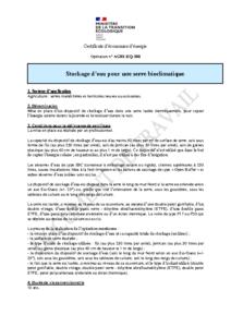 AGRI-EQ-108  Stockage d'eau pour les serres bioclimatiques